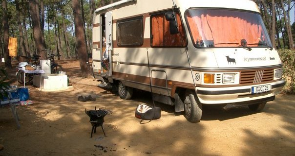 Hymer B584 in Portugal