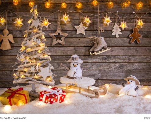 Weihnachtsgeschenke © Fotolia_179855082
