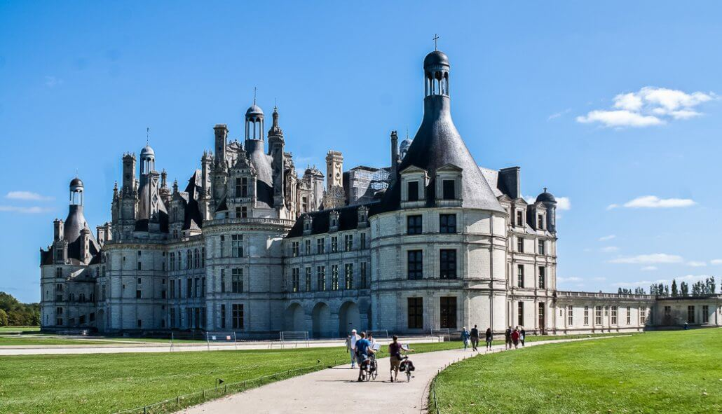 Tipp ✩ Übernachten am Chateau Chaumont / Loire