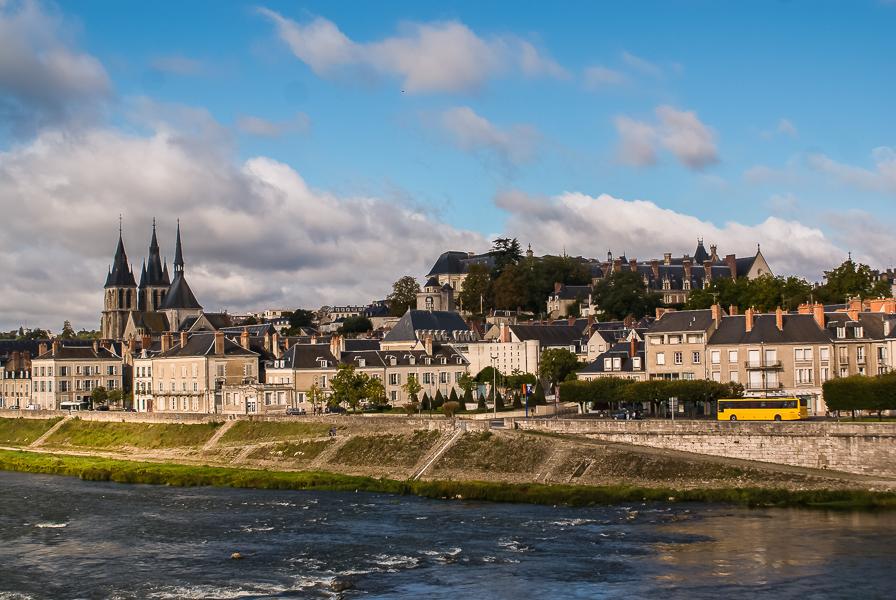 Blois mit Schloß