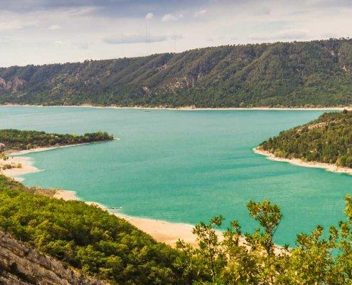 Blick auf den Lac Saint Croix