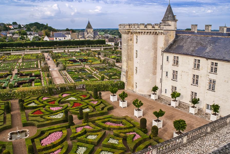 Schloß Villendry Loire