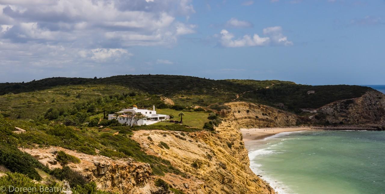 Erlaubtes Freistehen am Strand in Portugal - Praia do Burgau