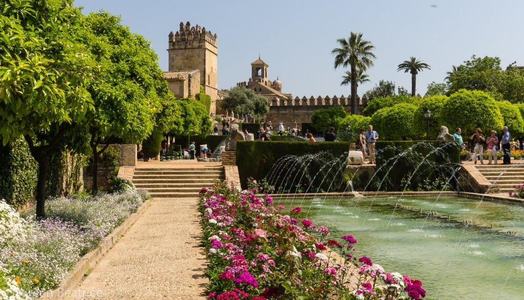 Garten Mezquita Cordoba