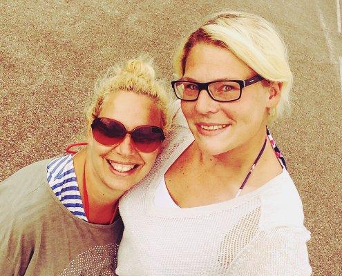 2 Bloggerinnen in Mimizan