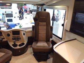 Sitzbereich Bloggermobil Concorde