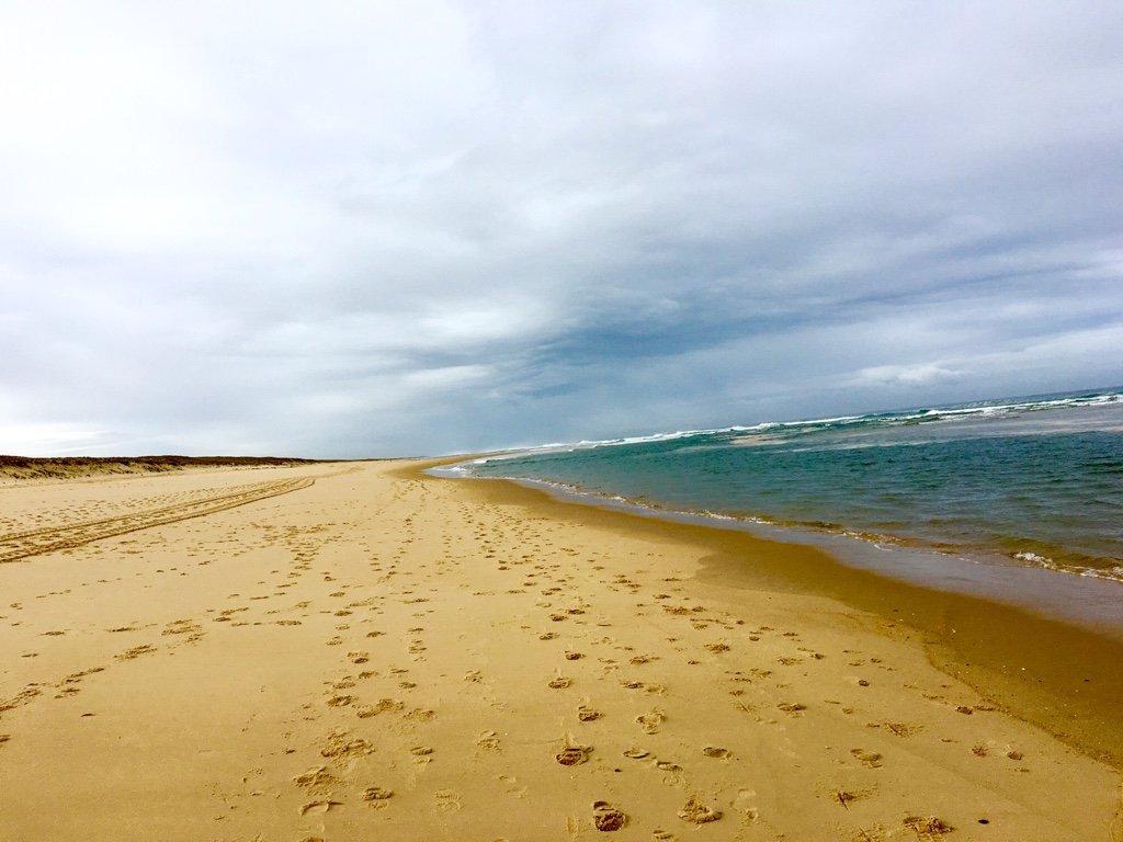 Strand in Mimizan Plage