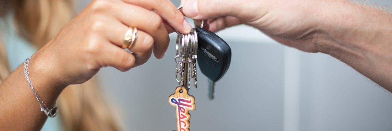Schlüsselübergabe ©Yescapa