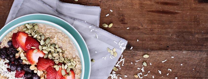 Apfel Kokos Porridge