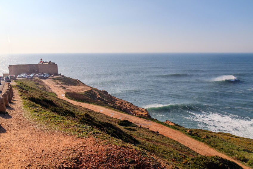 Praia do Norté, Paradies zum Freistehen in Portugal