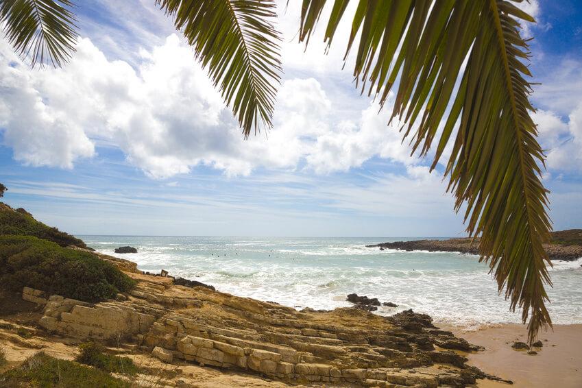 Frei Stehen in Portugal an einer tollen kleine Bucht - Praia da Ingrina
