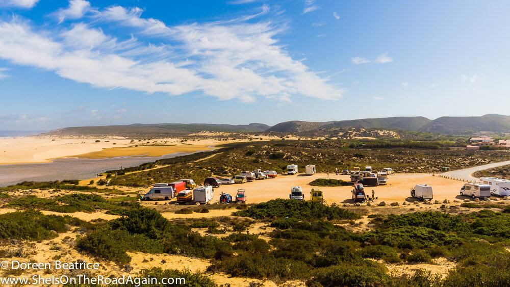 Absoluter Lieblingsplace zum Freistehen in Portugal, Bordeira - Westküste