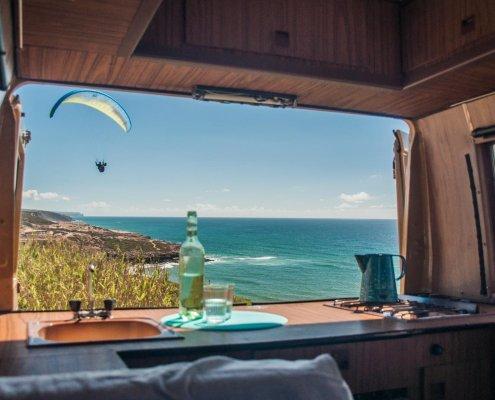Toller Ausblick aus einem ©PuraVidaCamper / Camper mieten Portugal