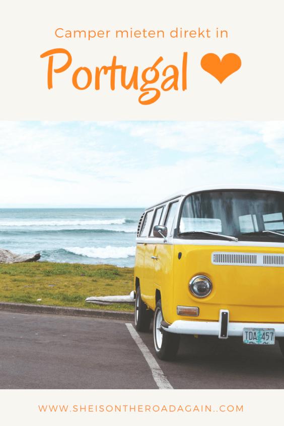 Wie Du den coolsten Hippie-Camper für Deinen Roadtrip in Portugal mieten kannst