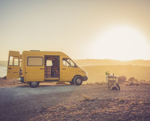 Freistehen ©Suncampers / Camper mieten in Portugal