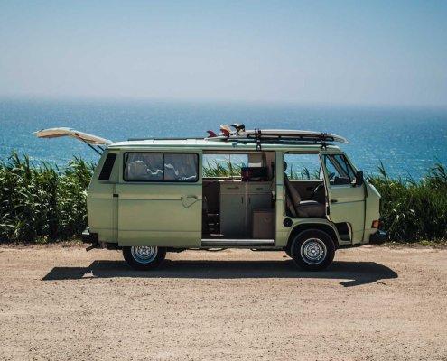 Die perfekte Vorstellung vom Roadtrip in Portugal ©PuraVida Campers / Camper mieten in Portugal