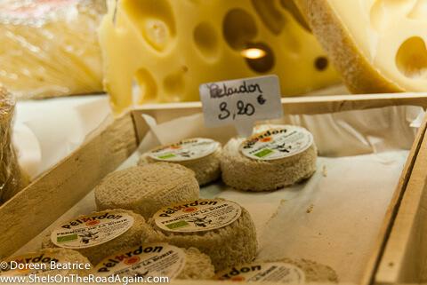 Märkte der Provence - Käse