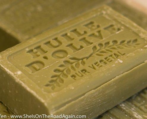 Seife aus Olivenöl-Märkte der Provence