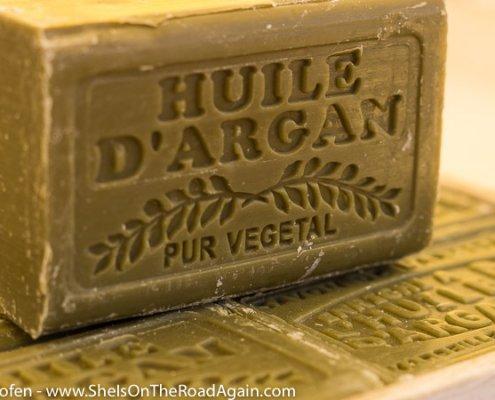 Seife aus Arganöl-Märkte der Provence