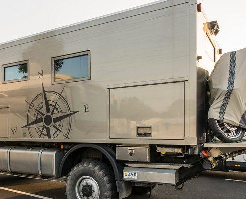 Leben auf P1 Caravan Salon