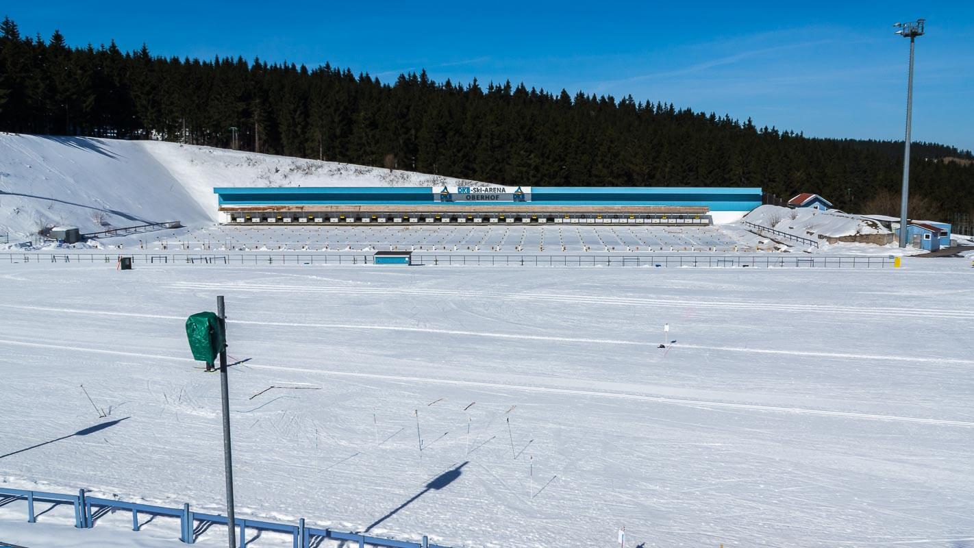 Biathlon Weltcup Oberhof - Ski Arena