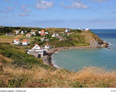 zeigt die Küste im Nord pas de Calais