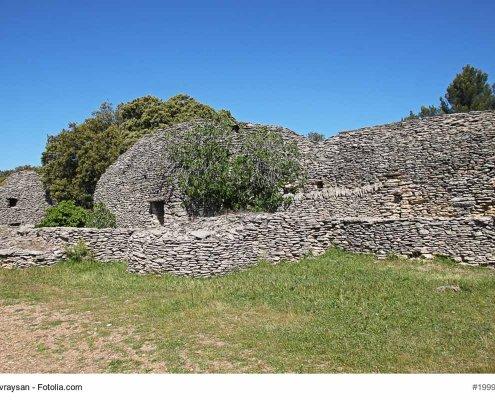 Typische Bories, Vaucluse, Gordes, France