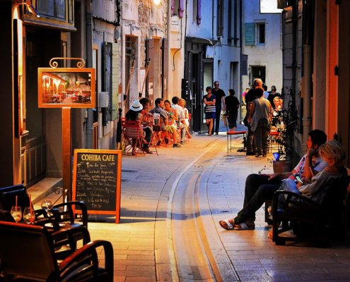 Abends in der Provence
