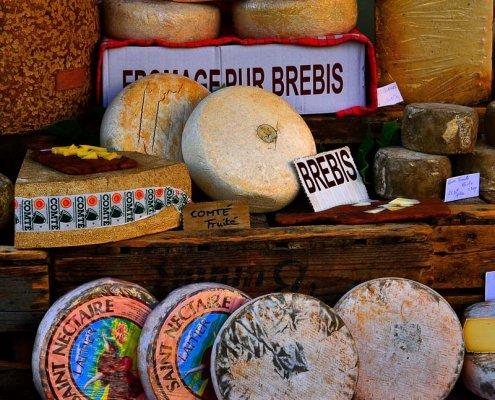 Marktsituation in der Provence
