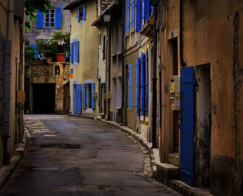 Gasse in Saint Remy, Provence