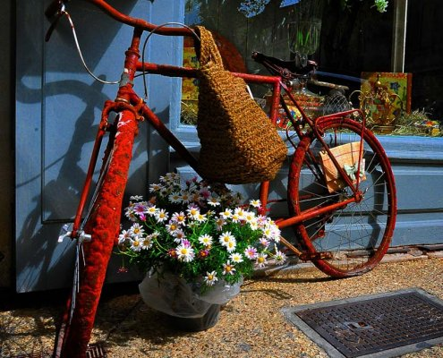 Fahrrad in der Provence