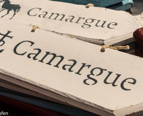 Schild Camargue