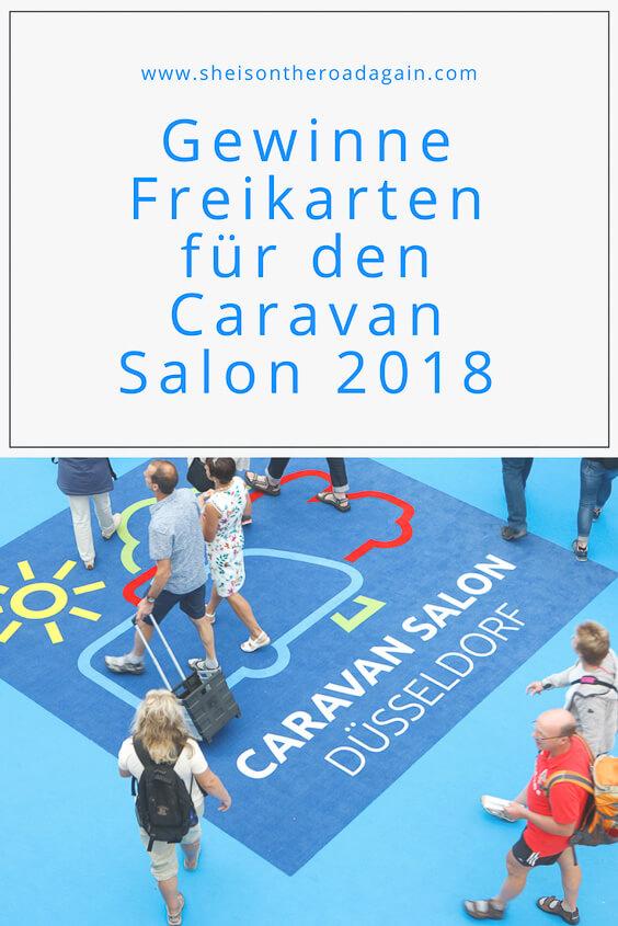 Gewinne ❗ Freikarten für den ★ Caravan Salon 2018 ★