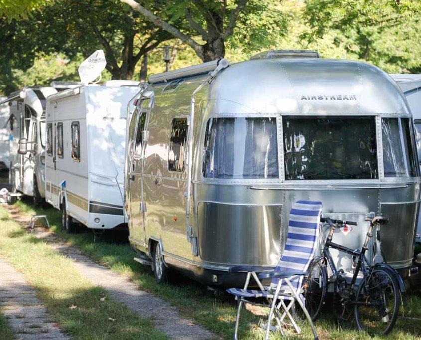 Neuheiten Caravan Salon 2021 | Auf dem Camper Parkplatz P1