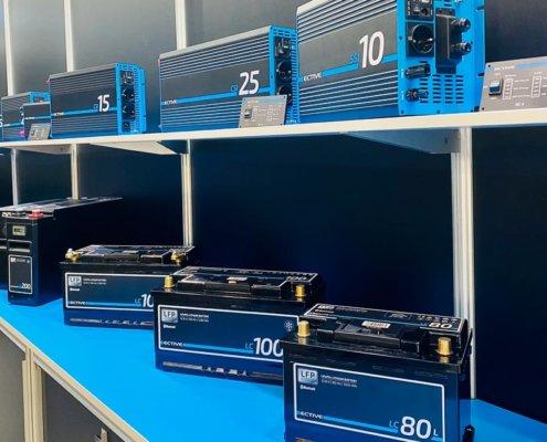 Lithium Batterie einbauen - viele Möglichkeiten am Stand von ECTIVE, CSD 2021